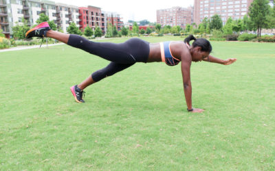 5 Move Full Body Workout To Strengthen + Tone