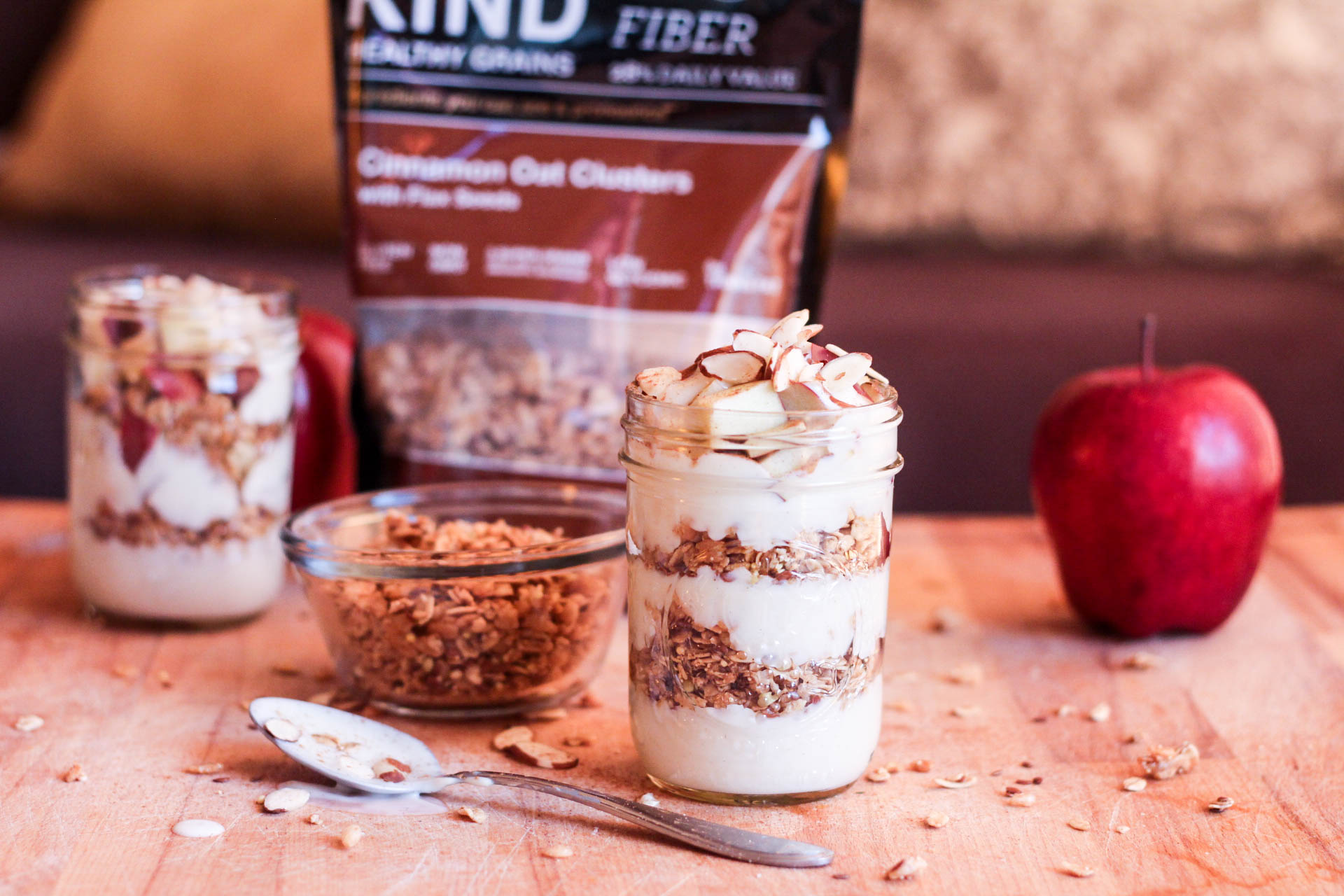 Apple Cinnamon Crunch Parfait