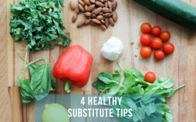4 Easy Healthy Substitute Tips